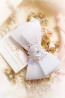 Свадебный гребень-бантик