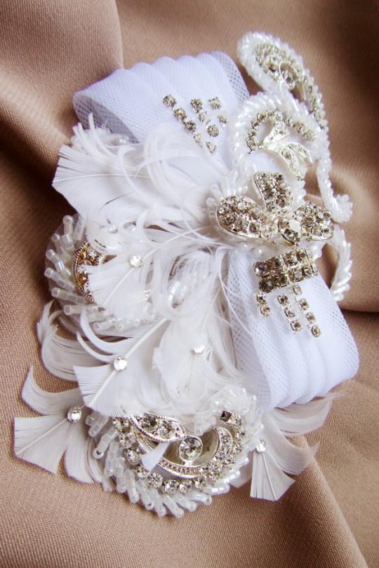 Свадебный гребешок для волос