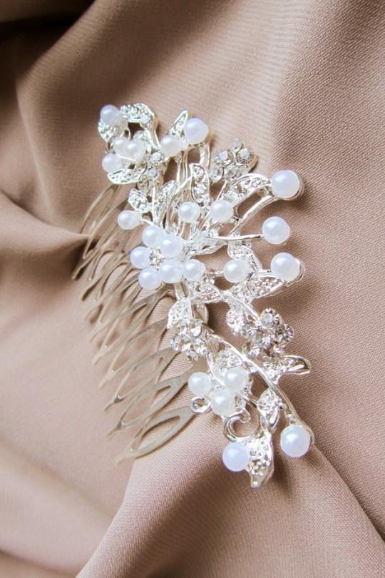Свадебный гребень для волос