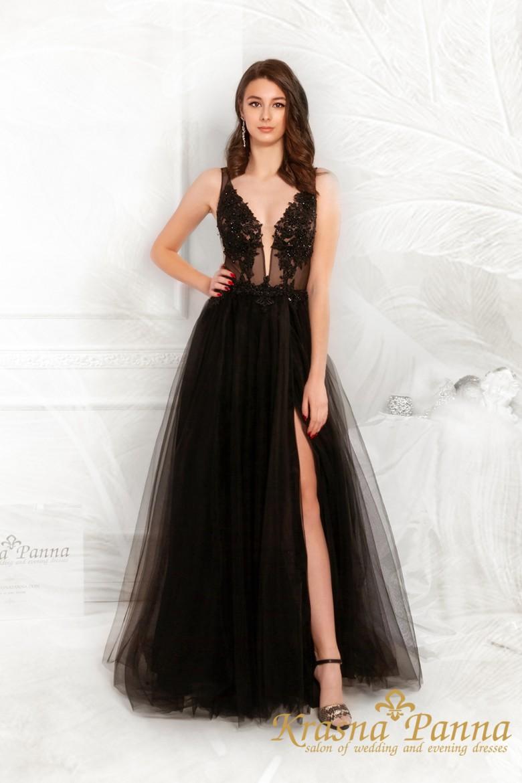 Вечернее платье Cash black